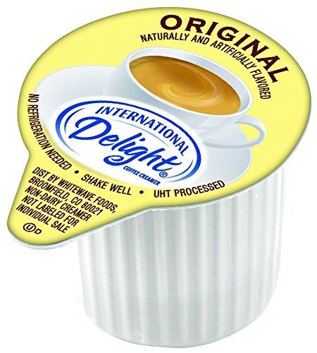 International Delight Original Liquid Creamer, 384 Count Single-Serve Coffee Creamers by International Delight
