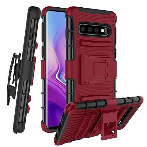 Samsung Galaxy S10 Case W [Built-in Kickstand]...