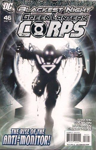 Green Lantern Corps #46 / Blackest Night