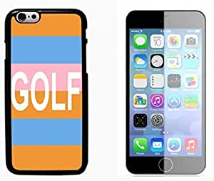 Golf Ball Pattern Hard Plastic and Aluminum Back Case FOR Apple iPhone 6 6G 4.7