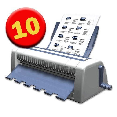 Cardmate 10-Up Business Card Cutter & Slitter for 8 1/2