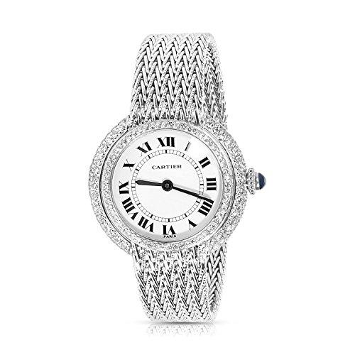 Cartier Dress mechanical-hand-wind womens Watch N/A (Certified Pre-owned)