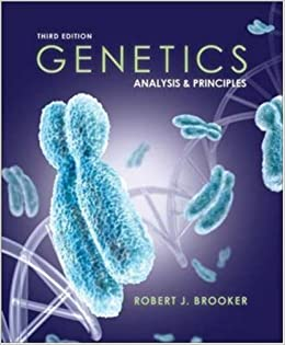 By robert brooker genetics analysis and principles third 3rd by robert brooker genetics analysis and principles third 3rd edition amazon books fandeluxe Images
