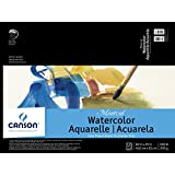"""Canson Montval Watercolor Pad, 18""""X24"""" Fold Over"""