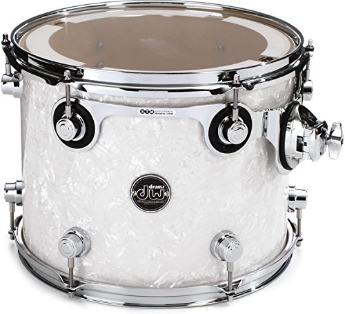 DW Performance Series Mounted Tom - 10 Inches X 13 Inches White Marine FinishPly by DW