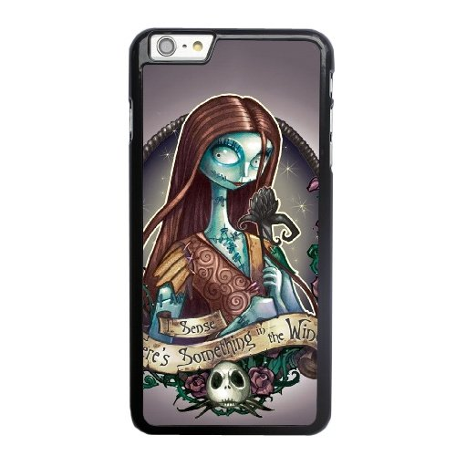 Coque,Apple Coque iphone 6 6S (4.7 pouce) Case Coque, Jack The Pumpkin King And Sally Phone Case Cover for Apple Coque iphone 6 6S (4.7 pouce) Noir Plastic Ultra Slim Cover Case Cover