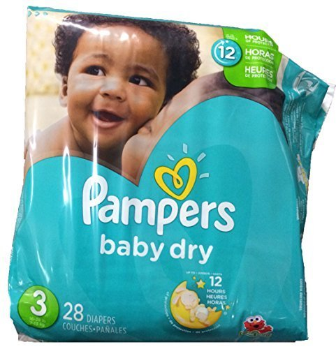 pampers dry size 3 - 7