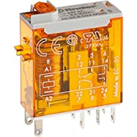 Finder 465282300040 - Mini-relé industrial enchufable 2 contactos