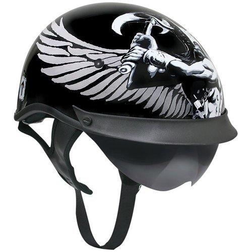 Viking Motorcycle Helmet - 4