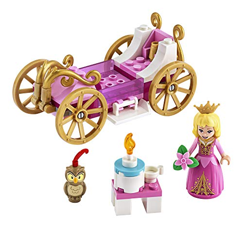 LEGO Disney Aurora's Royal Carriage 43173 Creative Princess Building Kit, New 2020 (62 Pieces)