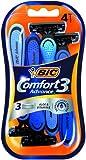 Bic comfort 3 advance - Pack de 4 afeitadoras de 3 cuchillas desechables