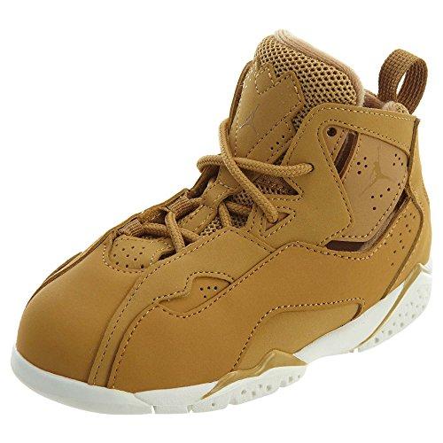 Jordan Nike Toddler Boy's True Flight, Golden Harvest/Sail, - Shoes Toddler 5 Size Jordan