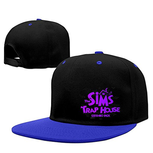 Royalblue Sims Trap House Extendo Pack Dirty South Snapback Hat Hip Hop Hat