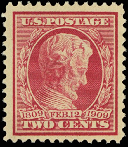 1909 2 Cent Lincoln Memorial Issue 2 Cent Postage Stamp Scott 367 By USPS