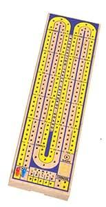 Drueke 817.00 2-Track Multi Colored Cribbage