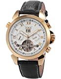 AMPM24 New Automatic Mechanical Analog Date & Day Luxury Men's Leather Watch Golden PMW018