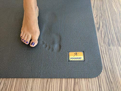 Pogamat XL Yoga Mat and Barefoot Exercise Mat - 84