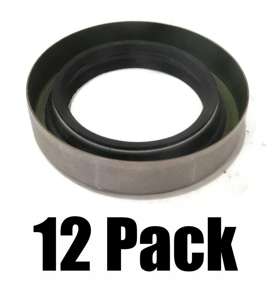 The ROP Shop (12) New Grease Seals Double Lip 1.719'' x 2.565'' Replace Dexter 10-19 010-019-00