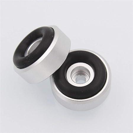 NO LOGO WSF-Spike Pads, Altavoz de Aluminio Caja Spikes Llaman Patas de Cabra Amplificador DAC decodificador de Audio del Ordenador Tope de Suelo for los pies de uñas M20 * 8: Amazon.es: