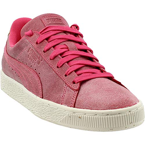 (PUMA Men's Suede Deco Paradise Pink/Golden Brown 10 D US)