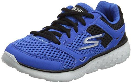 Skechers Go Run 400-Zodox, Zapatillas de Entrenamiento para Niños, Azul (Royal/Black), 37 EU