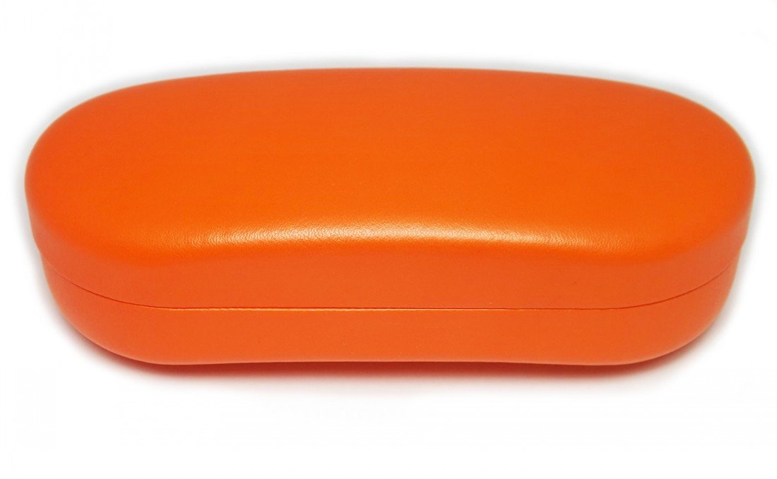 O'Meye Hard Shell Eyeglass & Sunglasses Case 3 Piece Set for Men & Women (MS87 Orange)