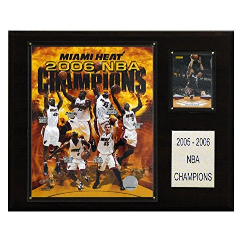 NBA Heat 2005-06 NBA Champions Plaque by C&I Collectables