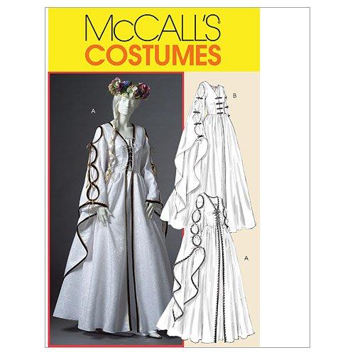 McCall's Patterns M4997 Misses' Renaissance Dresses, Size EE (14-16-18-20)]()