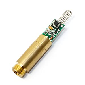 532nm Green Diode Lasers 10mw Brass Laser Dot Module 3V with Driver