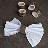 856store Novelty Rustic Style Wooden Napkin Holder Ring Wedding Party Event Table Decoration