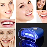 Foshin 1 PC Health Care Compact Portable LED Light Tooth Whitening Device