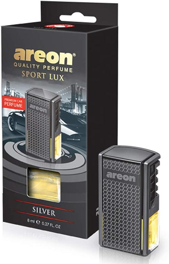 Lufterfrischer Areon Lux Auto Parfüm Silber Auto