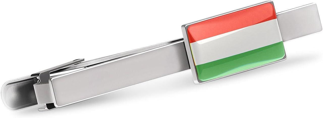 Vintage Hungarian Flag Hungary Men/'s Tie Clip Tack Bar
