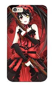 Premium Iphone 6 Case - Protective Skin - High Quality For Guns Dress Weapons Heterochromia Anime Lolita Fashion Anime Girls Datelive Tokisaki Kurumi Gothic Lolita by icecream design