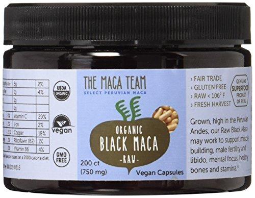 Black Maca Capsules Certified Gmo free product image