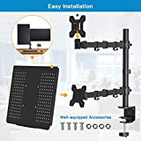 Laptop Monitor Mount Stand with Keyboard