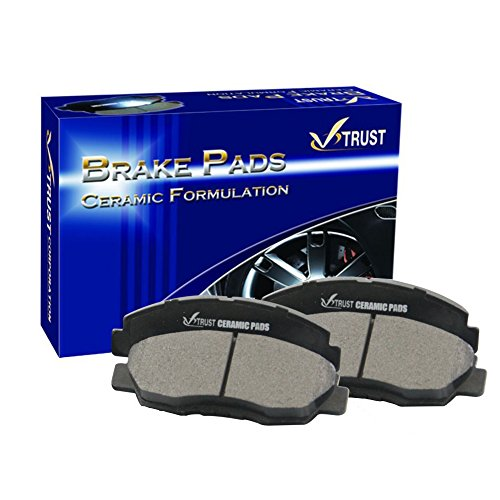 V-Trust Top Quality Ceramic Brake Pads-VTCRD465A-[FRONT (Honda High Performance Brake Pad)