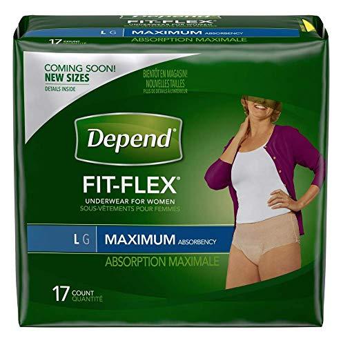 Large Maximum Absorbency Depends Fit Flex - Depend Super Absorbent