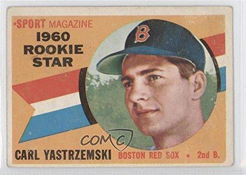 Carl Yastrzemski COMC REVIEWED Good to VG-EX (Baseball Card) 1960 Topps #148