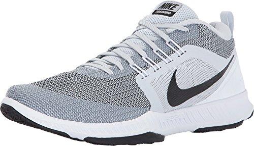 Nike Mens Zoom Domination TR Cross Training Shoes (Pure Platinum/Black/White, Size 11 M US)