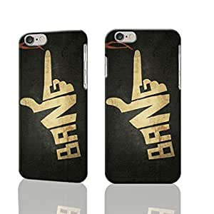 Bang Hand Art Photo Hard 3D Rough Case , Fashion Image Case Diy, Personalized Custom Durable 3d Case For iPhone 6 Plus- 5.5 inches