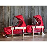 Eurosled St. Nick Donner Duo Loaded Two Up Sleigh Sled