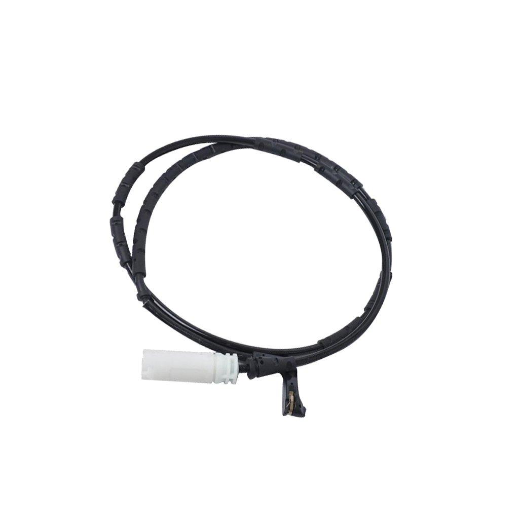 F Fityle 2pcs Car Brake Pad Wear Sensor Indicator Cable for BMW E81 E90 E91 Front Rear Right Alarm Wire