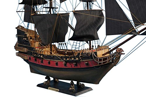 Handcrafted Model Ships Qa 36 Black Sails Blackbeards Queen Annes