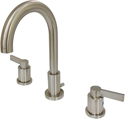 Details about  /Kingston Brass FB718DX Centerset Kitchen Faucet Brushed Nickel