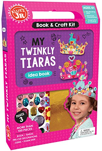 Klutz Jr. My Twinkly Tiaras Craft - Jewels Jr