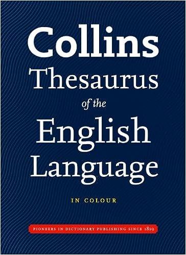 Collins thesaurus of the english language complete unabridged collins thesaurus of the english language complete unabridged amazon collins dictionaries 9780007281015 books solutioingenieria Choice Image