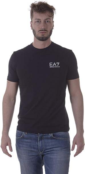 Emporio Armani Homme EA7 Logo T-Shirt, Noir,