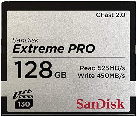 Sandisk CFAST 2.0 VPG130 128GB Extreme Pro SDCFSP-128G, SDCF