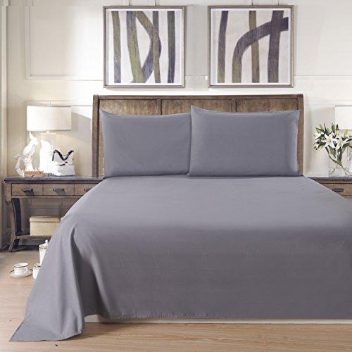 Lullabi Linen 100% Brushed Soft Microfiber Bed Sheet Set,...